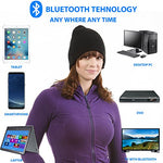 Bluetooth Winter Beanie with Microphone