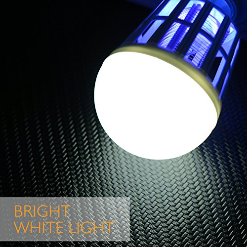 Electronic Easy-to-Clean Bug Zapper Light Bulb