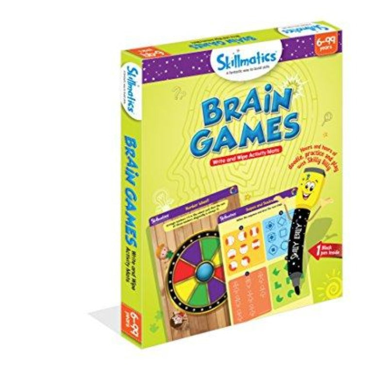 Skillmatics Educational Game: Brain Games 6-99 Years