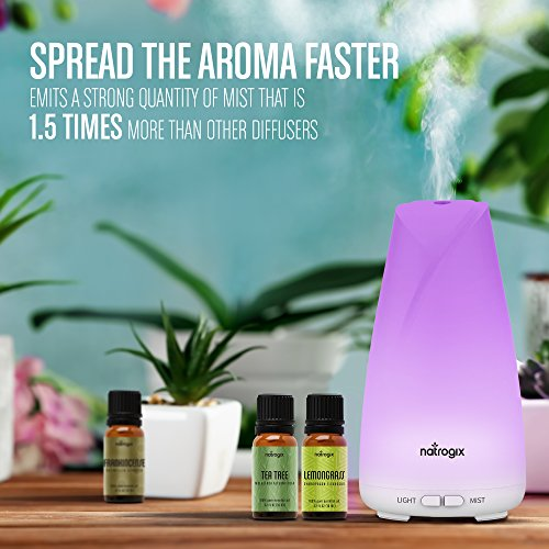 Color Changing LED Essential Oil Diffuser Humidifier