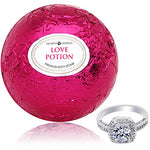 Extra Large 10oz. Love Potion Bath Bomb with Surprise Ring Inside