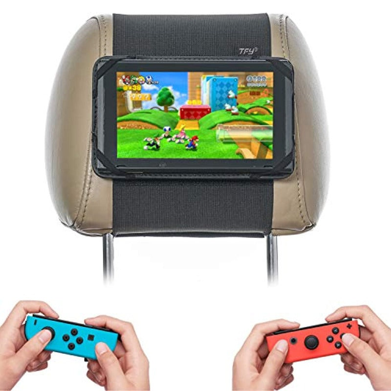 Vehicle Headrest Mount Compatible With Nintendo Switch