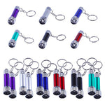 18 Piece Mini Flashlight Keychain Set