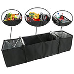 Auto Trunk Organizer with Insulated Cooler Compartments