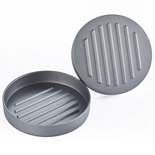 Non-Stick Burger Press Aluminum Hamburger Patty Maker