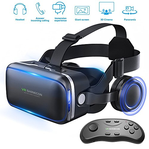 3D Technology Virtual Reality Headset Reality Goggles with Remote Control