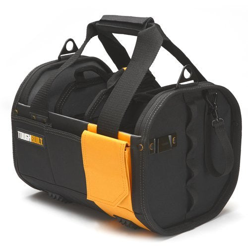 "Modular 12"" Tote Tool Storage Bag with 61 Pockets"
