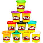Play-Doh Modeling Compound 10-Pack Case of Colors, Non-Toxic, Assorted Colors, 2-Ounce Cans
