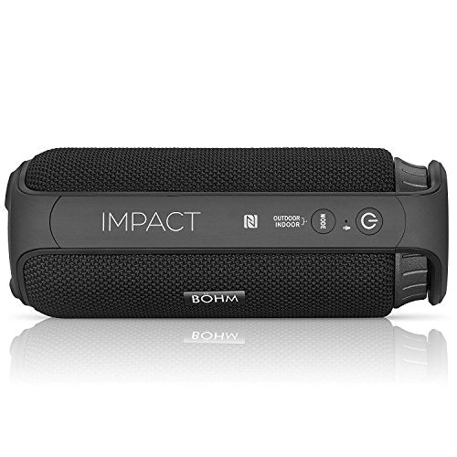 Water Resistant Portable Bluetooth Wireless Speaker with Built-In Mic