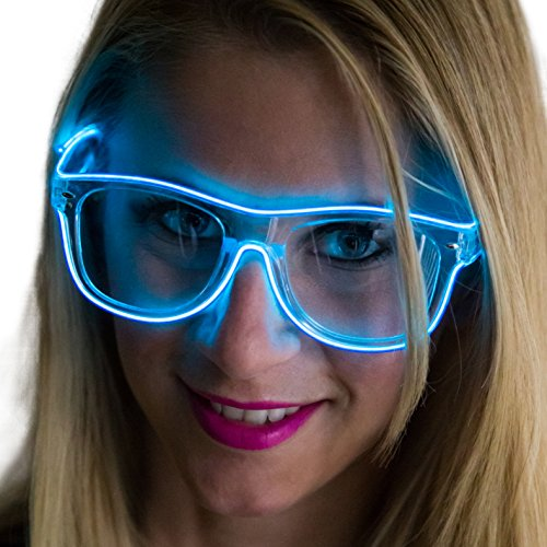 Clear   Glass   Light   Neon   Lens   Up