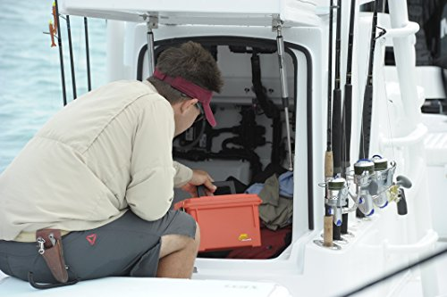 Plano 131252 Dry Storage Emergency Marine Box, Orange