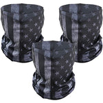 3 Pack American Flag Gaiter Neck Shield