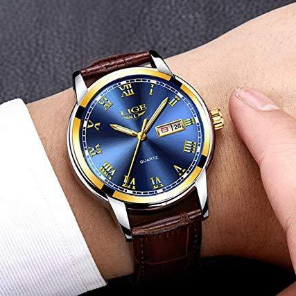Men's Ultra Thin Waterproof Steel Quartz Watch