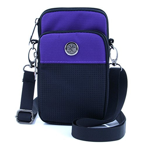 Casual Water Resistant Oxford Waist Wallet Crossbody Shoulder Sling