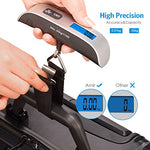 Portable Electronic Digital LCD Travel Luggage Scale (Batteries Included)