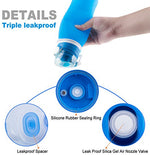 Silicone 26 oz. Collapsible Anti-Leak Travel Water Bottle - BPA Free