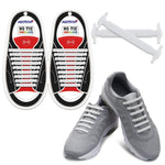 No-Tie Elastic Athletic Shoelaces