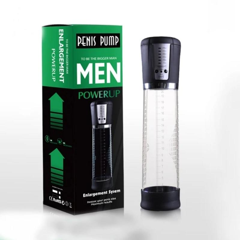 Waterproof Male Penis Vacuum Enlarger Air Pump
