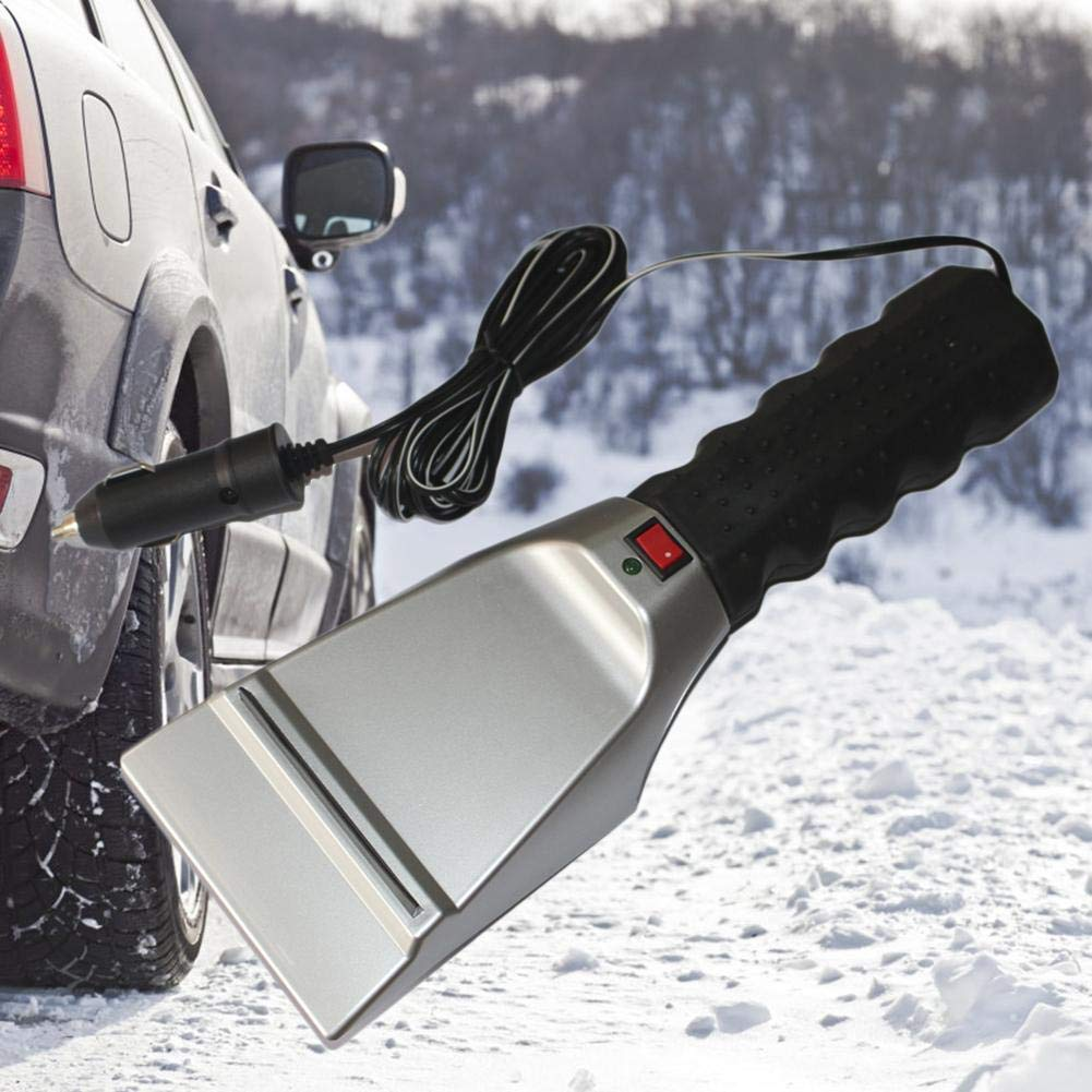 Image of 12V Electric Heated Ice Snow Defrost Windshield Scraper - $14.99 - Free Shipping