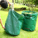 3 Pack 72 Gallon Garden Waste Bags, Reusable Yard Leaf Bags