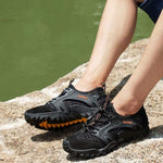 Men's Breathable Quick Dry Thick Sole Hiking Shoe
