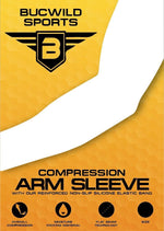 Sports Compression Arm Sleeve - UV/Sun Protection and Cooling Base Layer