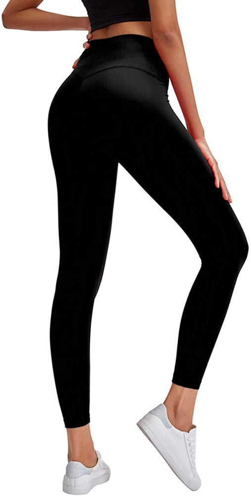 Womens High Waisted Leggings Premium Yoga Pants