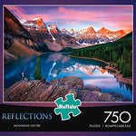 Buffalo Games Reflections - Mountains on Fire - 750 Piece Jigsaw Puzzle