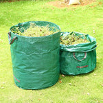 4 Pack 72 Gallon Garden Waste Bags, Reusable Yard Leaf Bags