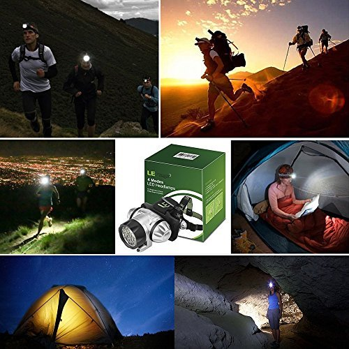 Outdoor Survival 4 Mode LED Headlamp