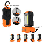 Portable LED Work Light with Magnetic Base & Hanging Hook