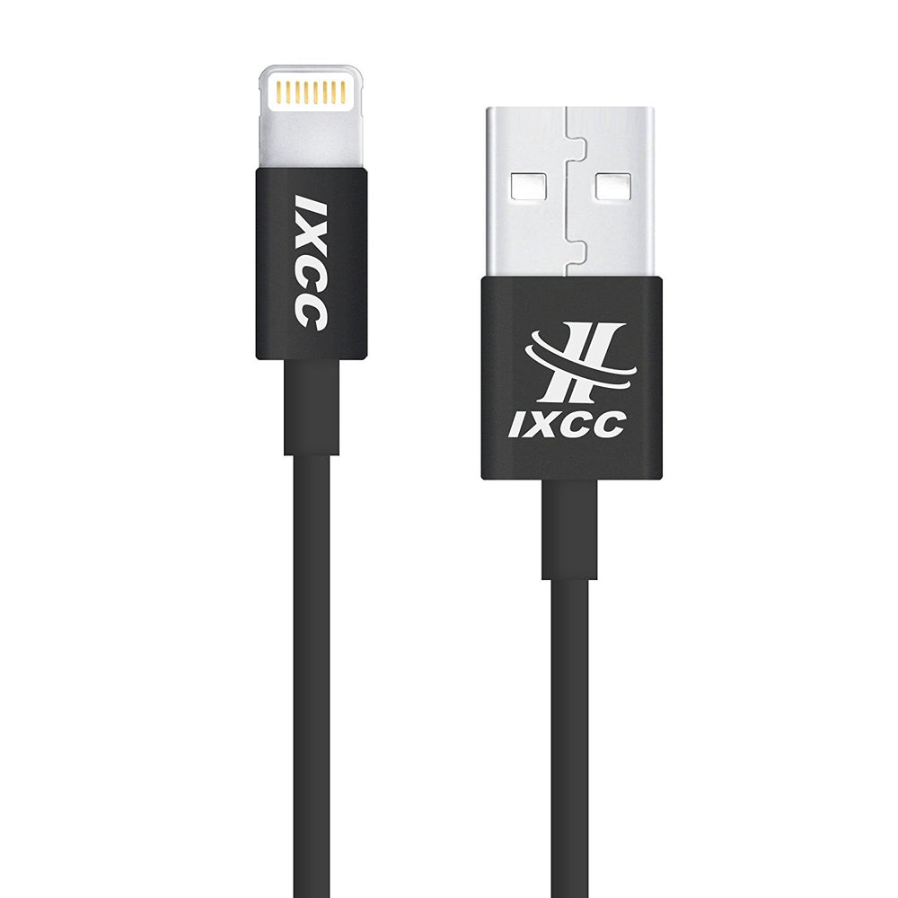 Extra Long iPhone Charger Cable, iXCC 10 Feet Lightning 8pin to USB Charge and Data Cord for iPhone SE/5/5s/6/6s/6s Plus/7/7 Plus/iPad Mini/Air/Pro [Apple MFi Certified]-Black