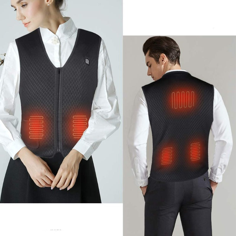 Temperature Control USB Electric Heated Vest