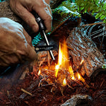 3-in-1 Survival Multi-Functional Magnesium Fire Starter Outdoor Camping Tool