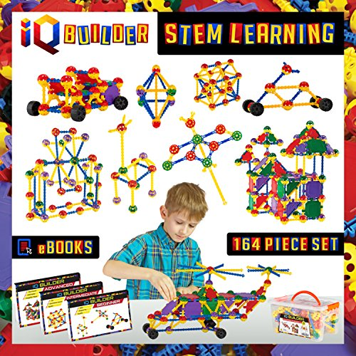 Creative Engineering IQ Building Blocks Set - 164 Pieces