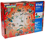 50-in-1 K'NEX Power and Play Motorized Building Set – 529 Pieces