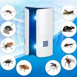 Multi-Function Ultrasonic Electric Rodent and Insect Home Repeller