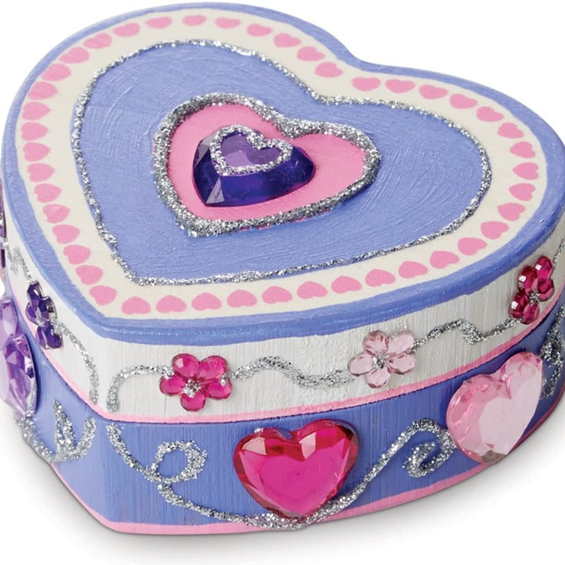 DIY Heart-Shaped Box Craft Kit