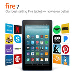 "Fire 7 Tablet with Alexa, 7"" Display, 16 GB, Black - with Special Offers"