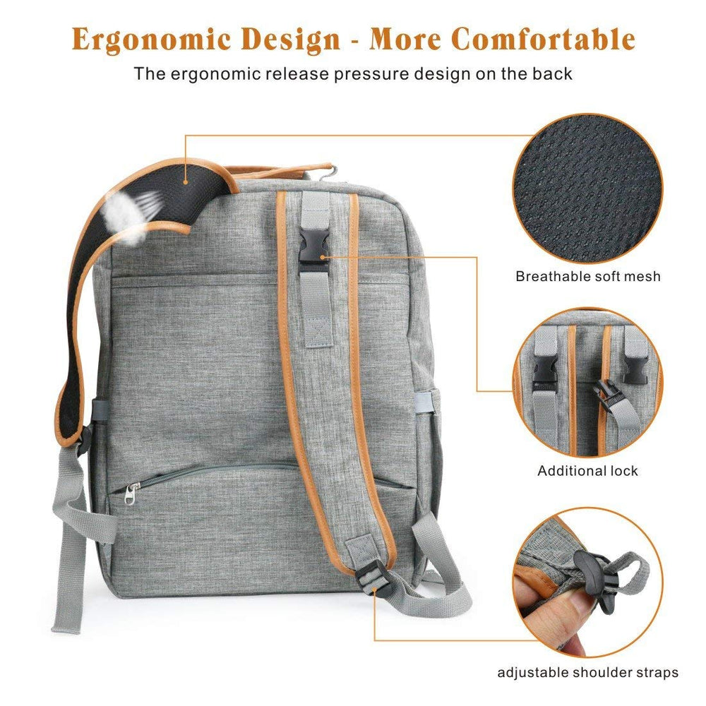 Idefair(TM) Diaper Bag Backpack