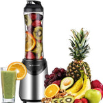 Personal Smoothies Blender 300 Watts Includes 18 oz BPA Free Portable Travel Sports Bottle