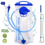 Hydration Bladder 2 Liter Water Leak Proof Hiking Reservoir