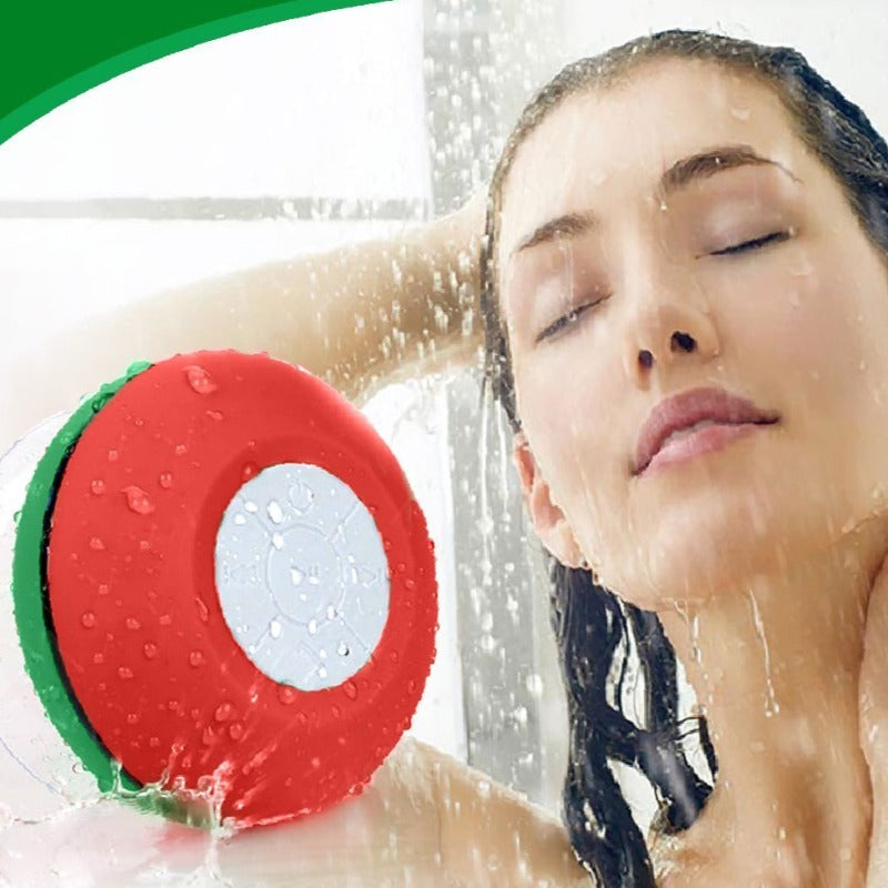 NeeGo Wireless Bluetooth Shower speaker Water Resistant with Built-in Mic And LED lights Compatible with all Bluetooth devices