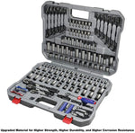Professional Car Repair Ratchet Wrench Socket Tool Set