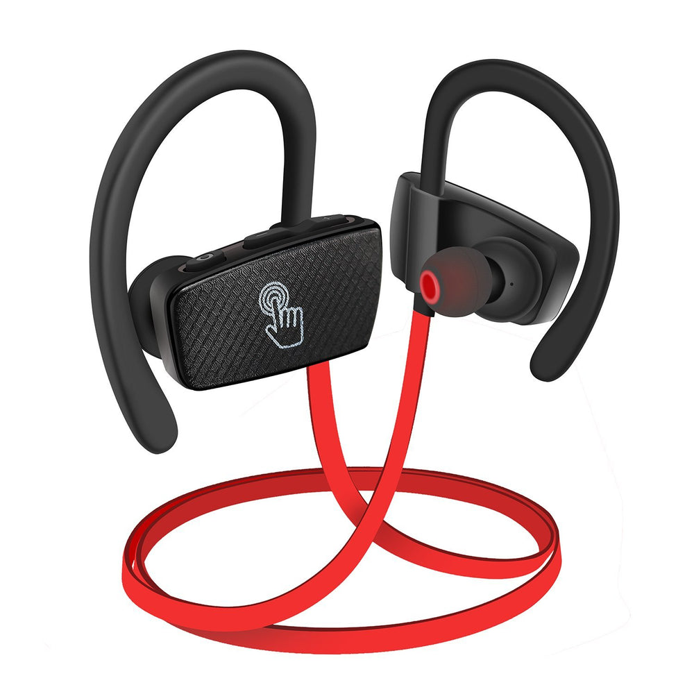 Bluetooth Headphones, IPX 7 Waterproof Touchpad Bluetooth Headset, Bluetooth V4.1 Aptx In Ear Wireless Sport Headphones, HD Stereo Bluetooth Earbuds, 9 Hours Play Time Noise Canceling Earphones
