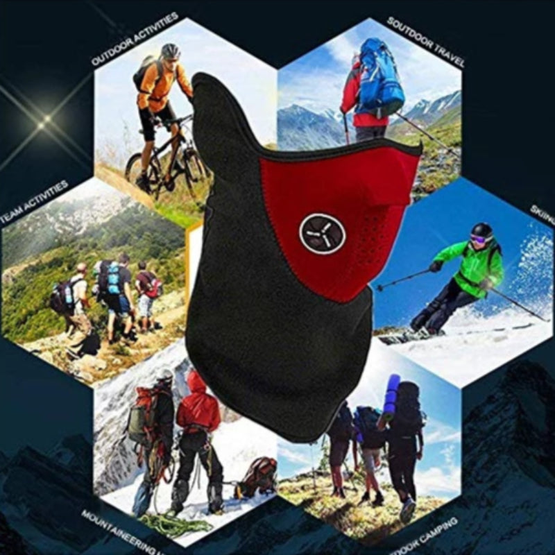 3 PCS Windproof Ski Face Mask Winter Sports Motorcycles, Bicycle, Skiing, Running, Mountain Climbing