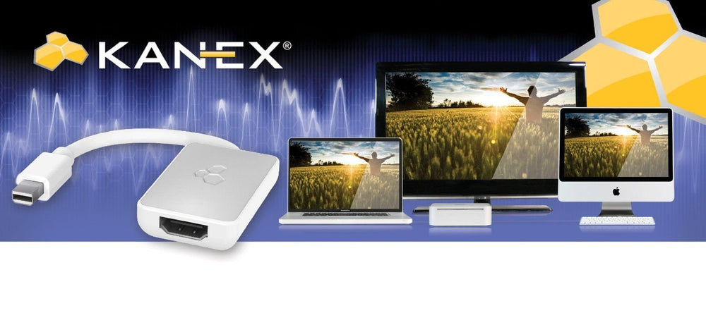 Kanex iAdapt Mini DisplayPort / Thunderbolt to HDMI Adapter with Audio Support