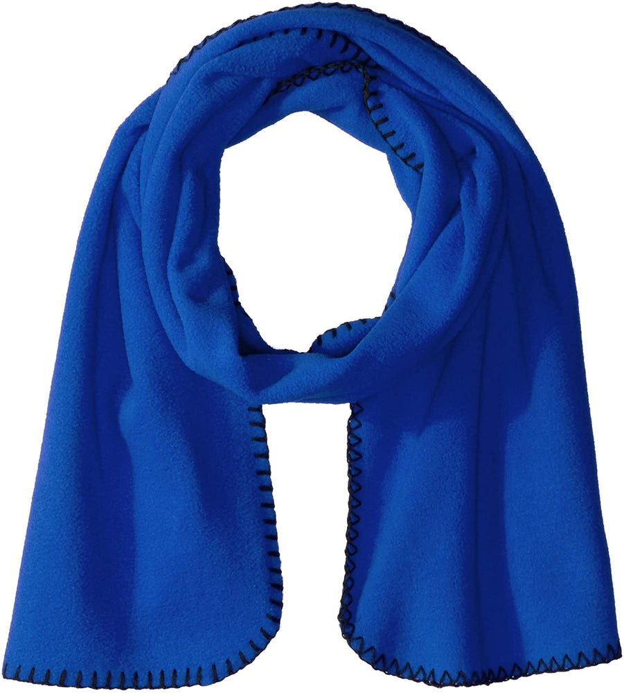 Clementine Apparel Men's Super Soft Winter Fleece Scarf (Pack of 6)