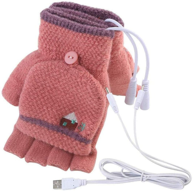 Women's USB Heated Mittens