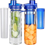 Infuser Sport Flip-Top 25 oz. Water Bottle (BPA Free)